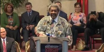 Don King Accidentally Drops The N-Word While Introducing Trump