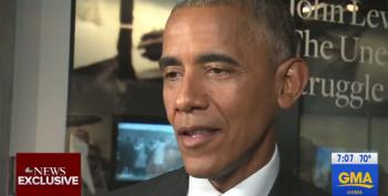 President Obama To Trump: 'That Whole Slavery Thing Wasn't Very Good For Black People'