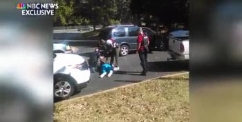 NBC Releases Footage Of The Fatal Shooting Of Keith Scott In Charlotte, NC