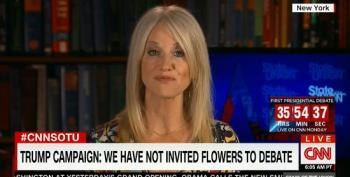 Trump Campaign Managers Claims They Didn't 'Formally' Invite Flowers To Debate