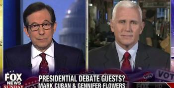 Chris Wallace: 'Do You Really See' Mark Cuban And Gennifer Flowers 'As Equivalent'