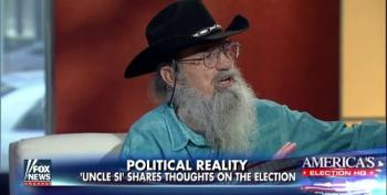 'Duck Dynasty''s 'Uncle Si' Wants To Vote For God For President