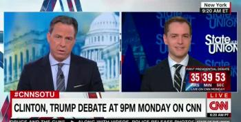 Jake Tapper Asks Clinton Campaign Manager About Bogus Email 'Cover-Up'