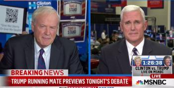 Chris Matthews Asks Mike Pence About Trump's 'Ethnic Stuff'