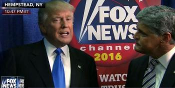 Trump Runs Straight To Hannity For Post-Debate Damage Control