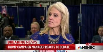Kellyanne Conway Insists 'Some People' Buy Trump's Audit Excuse