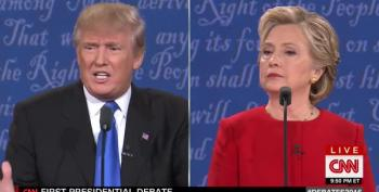 Donald Trump Groans During First Presidential Debate