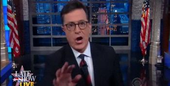 Colbert: 'Trump Sounded Like He Was Fighting Off A Cold With Cocaine'