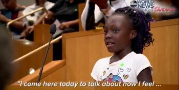 Brave 11-Year-Old In Charlotte Gives Best Speech Of The Week
