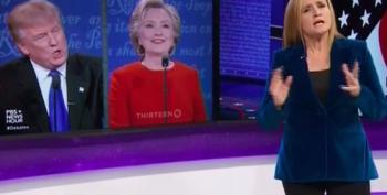Samantha Bee Analyzes The First 2016 Presidential Debate