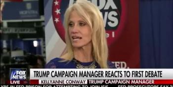 Kellyanne Conway Refers To Trump's History Of Abusing Women