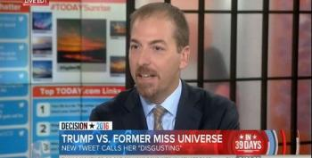 Chuck Todd: Machado Tweets Show Trump Is 'In A Bad Place Right Now'