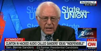 Bernie Sanders Shoots Down Notion That Clinton Insulted His Supporters