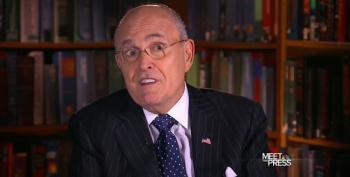 Serial Adulterer Giuliani Is Asked If He Should Be Trump's Point Man On Infidelity