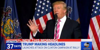 Donald Trump Goes Nuclear On Hillary: Mocks Her Illness And Says She Cheated On Bill
