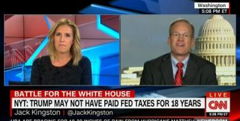 CNN Host Rips Jack Kingston Over Trump Tax Report