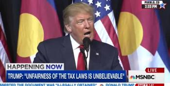 Trump: 'I Have Brilliantly Used Tax Laws To My Benefit'