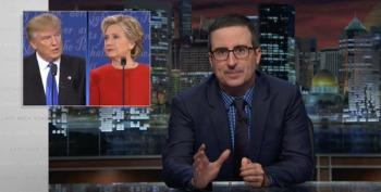 John Oliver Recaps Donald Trump's Very Bad Post-Debate Week