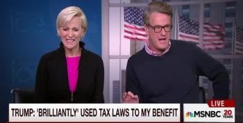 Morning Joe Says Trump's Tax Bombshell 'Not An Issue'