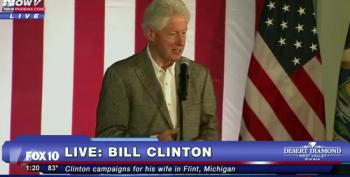 Bill Clinton Did Not Trash Obamacare At All