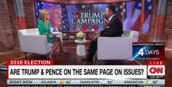 CNN Host LOL's At Surrogate For Claiming Trump Would Command Respect