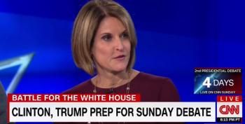 Gloria Borger Claims: 'The Bar Is Even Lower For Donald Trump' In Second Debate