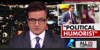 Chris Hayes Smacks Down Jesse Watters' Racist Chinatown Segment
