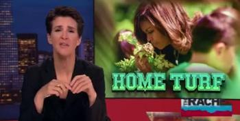 Maddow: No One Better Touch Michelle Obama's Garden
