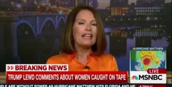 Joy Reid Asks Michele Bachmann: So Is God Taking Down Trump?