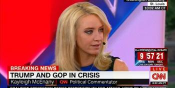 Trump Surrogate Kayleigh McEnany Pretends Hillary Clinton Is The One Running 'Issue-Free Campaign'