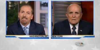 Chuck Todd Grills Rudy Giuliani Over Defense Of Trump's Sexual Predation