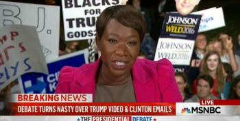 Joy Reid Slams Trump's Debate Night As Something We'd Expect In A Third World Country