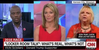 Kansas Trump Supporter Leaves Brooke Baldwin Speechless