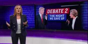 Samantha Bee Analyzes The Second Presidential Debate