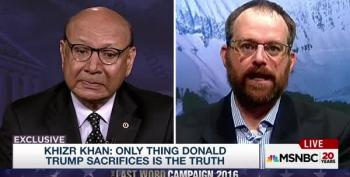 Khizr Khan And His Son's Fellow Soldier Respond To Trump