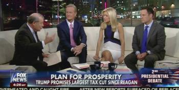 Stuart Varney Tries To Convince Fox News Host Why Trump's Tax Plan Will Create 4% Growth