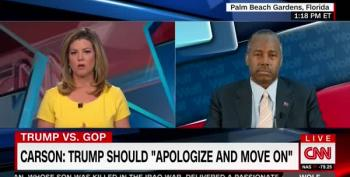Ben Carson Tells CNN's Keiler  She Needs To Hear More Locker Room Talk