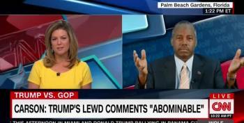 Ben Carson Tells Brianna Keilar That It's Her Problem She Hasn't Heard Enough Talk Like Trump's
