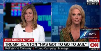 Brianna Keilar Battles Kellyanne Conway: Trump 'Is Upstaging Himself'