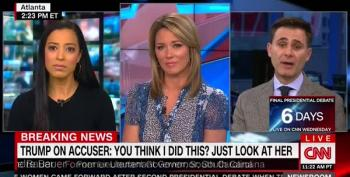 CNN Panel Goes Off The Rails As Trump Surrogate Swats Female Panelist