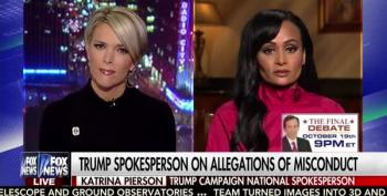 Katrina Pierson On Trump's Sex Allegations: 'What About The North Carolina Hurricane?'