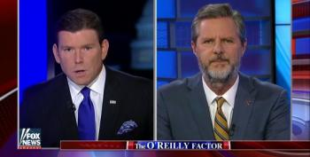 Jerry Falwell, Jr. Gets A Friendly Fox News Platform To Promote His Support For Donald Trump – And Forget The Liberty U Protests Of Same