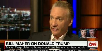 Maher: The Problem Is Trump Supporters Live In A Fact-Free Bubble