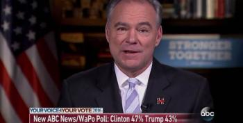 Tim Kaine: Trump's Claims Of Election Fraud Are 'Scare Tactics'
