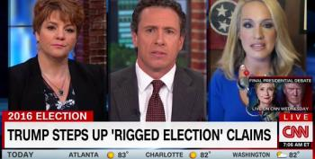 CNN Trump Surrogate: Donald Trump's Calls Of 'Rigged Election' Is GOTV Effort