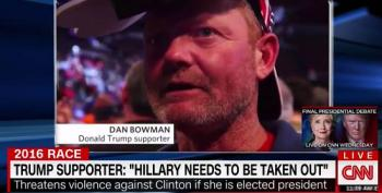 Trump Supporter Threatens The Assassination Of Hillary Clinton At Rally