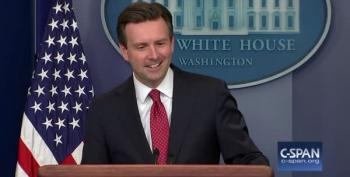 Josh Earnest Responds To Question About Drug-Testing Candidates