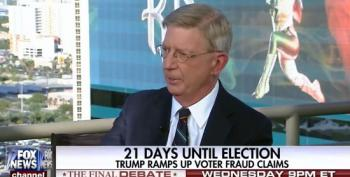 George Will Supports Trump On 'Rigged Election' Because Dems Fight Against Voter ID Laws