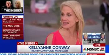 Kellyanne Conway: Trump Charges False Because He Denies Them And His Wife Agrees