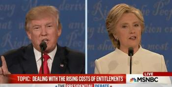 Donald Trump Calls Clinton A 'Nasty Woman' During Presidential Debate